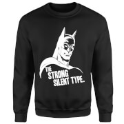 DC Comics Batman The Strong Silent Type Trui - Zwart