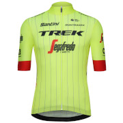Santini Trek-Segafredo 18 Blend Training Jersey - Yellow