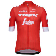 Santini Trek-Segafredo 18 Blend Replica Jersey - Red