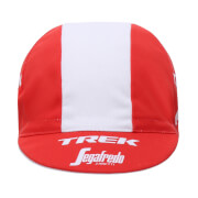 Santini Trek-Segafredo 18 Cotton Race Cap - Red