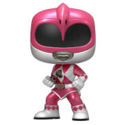 Power Rangers Metallic Pink Ranger EXC Pop! Vinyl Figure