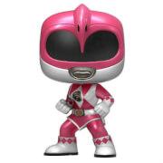 Power Rangers Metallic Pink Ranger EXC Pop! Vinyl Figure