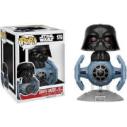 Star Wars Tie Fighter with Darth Vader EXC Pop! Vinyl Figure