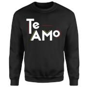 Te Amo Block Sweatshirt - Black