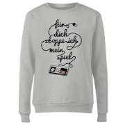 I'd Pause My Game For You (DE) Women's Sweatshirt - Grey