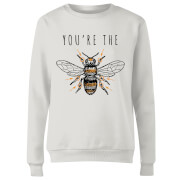 You're The Bees Knees Frauen Pullover - Weiß