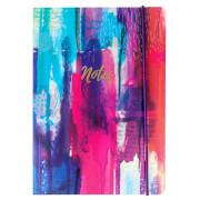 Portico Designs A5 Notebook - Inky Splash