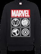 Marvel Avengers Assemble Iconen Trui - Zwart