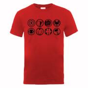 Marvel Avengers Assemble Team Iconen T-shirt - Rood