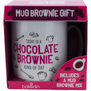bakedin Chocolate Brownie Mug Gift Set