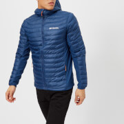 Columbia Men's Powder Lite Hooded Down Jacket - Carbon Heatwave