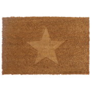 Embossed Star Doormat