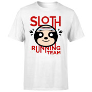 Sloth Running Team T-Shirt - White