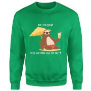 Am I Too Slow? Sweatshirt - Kelly Green