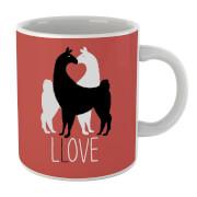 Tasse Llove Amour Lama