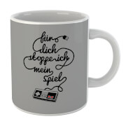 Tasse I'd Pause My Game For You (Allemand)