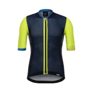 Santini Tono 2.0 Elite Jersey - Yellow/Navy