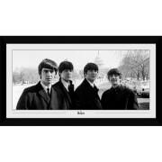 The Beatles Capitol Collector's 50 x 100cm Framed Photograph
