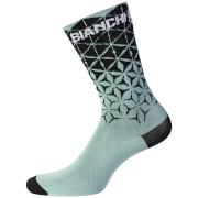 Bianchi Bolca Socks - Celeste/Black