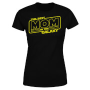 Best Mom In The Galaxy Women's T-Shirt - Black