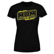 Best Mom In The Galaxy Women's T-Shirt - Black