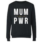 MUM PWR Women's Sweatshirt - Black