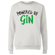 Powered By Gin Women's Sweatshirt - White