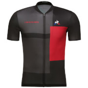 Le Coq Sportif Tour de France 2018 L'Enfer Du Nord Jersey - Black/Red