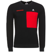 Le Coq Sportif Tour de France 2018 L'Enfer Du Nord Sweatshirt - Black/Red