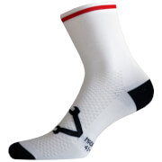Nalini Lampo Socks - White