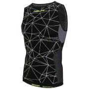 Nalini Tenno Sleeveless Base Layer - Black