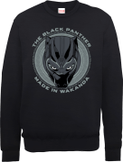 Black Panther Made in Wakanda Trui - Zwart