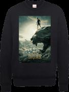 Black Panther Poster Sweatshirt - Black