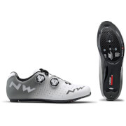 Northwave Revolution Road Shoes - White/Grey