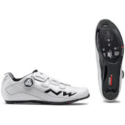 Northwave Flash 2 Carbon Cycling Shoes - White