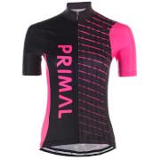 Primal Women's Theta Helix Jersey - Black/Pink