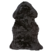 Royal Dream Large Sheepskin Rug - Black