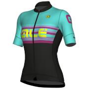 Alé Women's R-EV1 Summer Jersey - Black/Turquoise