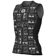 Alé Velo Active Anatomic Sleeveless Baselayer - Black