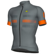Alé Strada Jersey - Grey/Orange