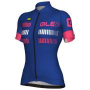 Alé Women's Strada Jersey - Blue/Pink/White