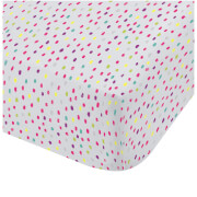 Catherine Lansfield Clouds Fitted Sheet - Multi