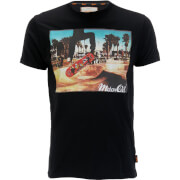 Brave Soul Men's Halfpipe T-Shirt - Black