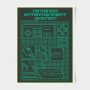 Nintendo Entertainment System Print