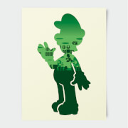 Nintendo Super Mario Luigi Poster