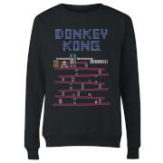 Sweat Femme Donkey Kong Rétro - Nintendo - Noir