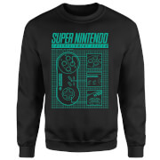 Super Nintendo Entertainment System Sweatshirt - Black