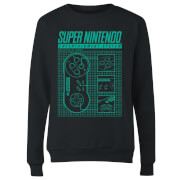 Super Nintendo Entertainment System Women's Sweatshirt - Black