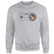 SNES Controller Pad Sweatshirt - Grey