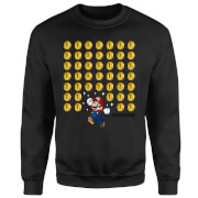 Sudadera Nintendo Super Mario Monedas - Hombre - Negro